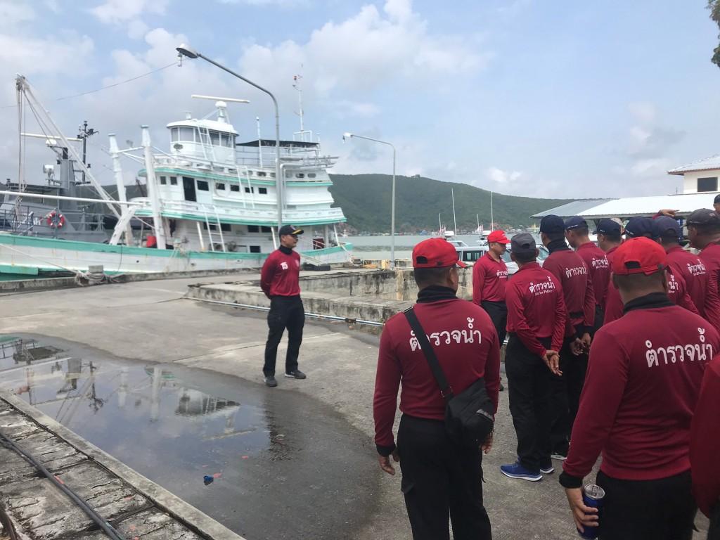 ฝึกทบทวนยุทธวิธีทางเรือ วันที่ 6 ก_10.พ.63 ณ กก.7 ฯ_