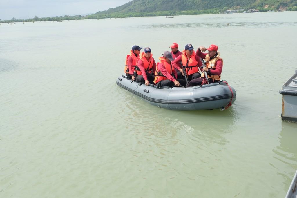 ฝึกทบทวนยุทธวิธีทางเรือ วันที่ 6 ก_13.พ.63 ณ กก.7 ฯ_