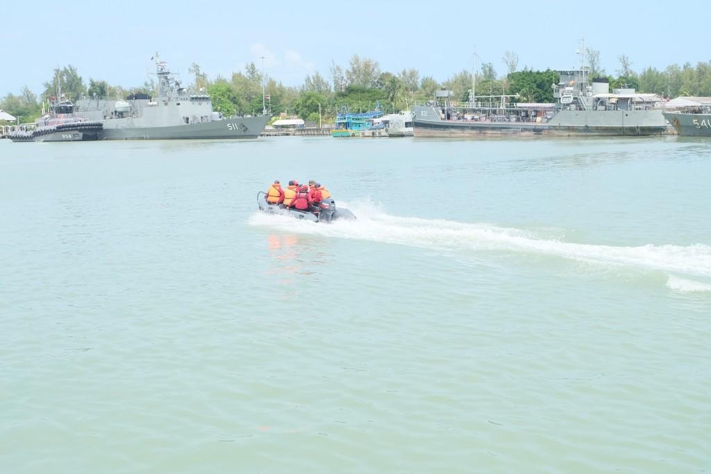 ฝึกทบทวนยุทธวิธีทางเรือ วันที่ 6 ก_17.พ.63 ณ กก.7 ฯ_
