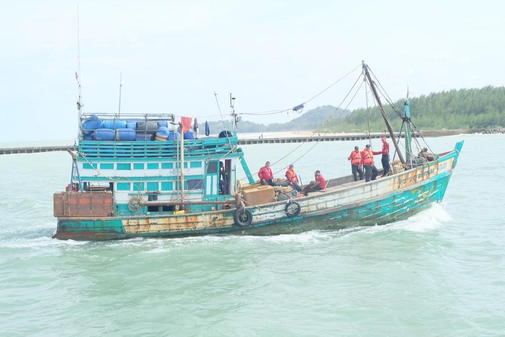 ฝึกทบทวนยุทธวิธีทางเรือ วันที่ 6 ก_20.พ.63 ณ กก.7 ฯ_